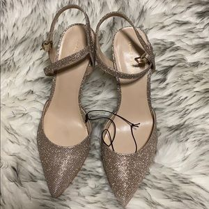 New Marc Fisher sparkly heels